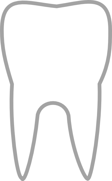 Simple Tooth Icon Clip Art At Clker Com Vector Clip Art