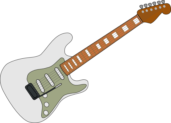 fender guitar outline - photo #35