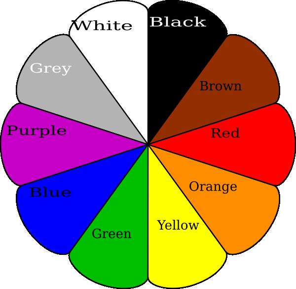 Color Wheel Clip Art at Clker.com - vector clip art online ...