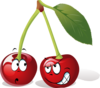Cartoon Cherry Fruit Clip Art
