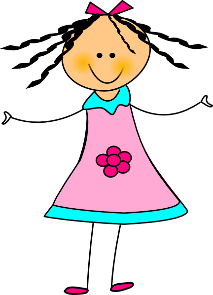 happy girl clip art at clker com vector clip art online royalty rh clker com happy girl clipart free happy girl clipart images