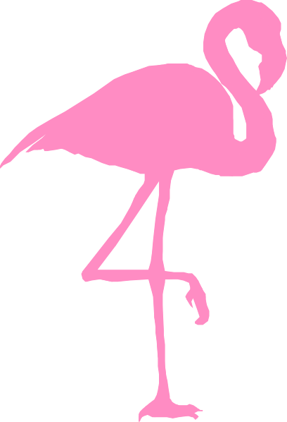 Flamingo Clip Art at Clker.com - vector clip art online ... Flamingo Outline