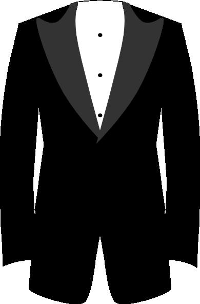 tuxedo clip art at clkercom vector clip art online
