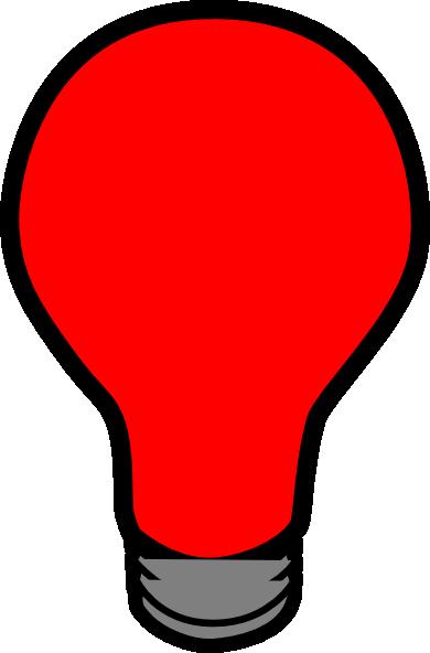 Red Lightbulb Clip Art At Vector Clip Art Online Royalty Free Public Domain
