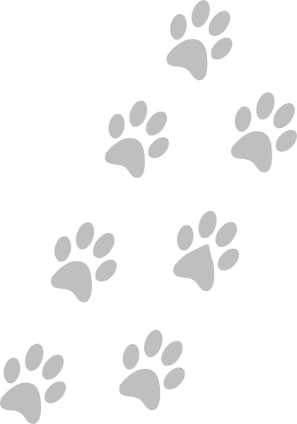 grey paws clip art at clker com vector clip art online  royalty free   public domain dog paw clip art png dog paw clip art outline