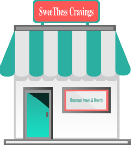Homemade Sweets Shop5 Clip Art