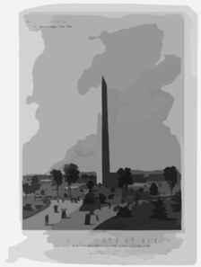 The Washington Monument Clip Art