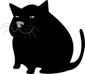 Black Cat / Gato Negro Clip Art
