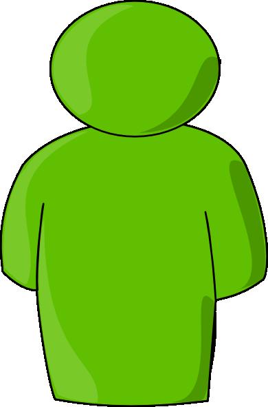 Person Buddy Symbol Green Light Clip Art At Clker Vector Clip