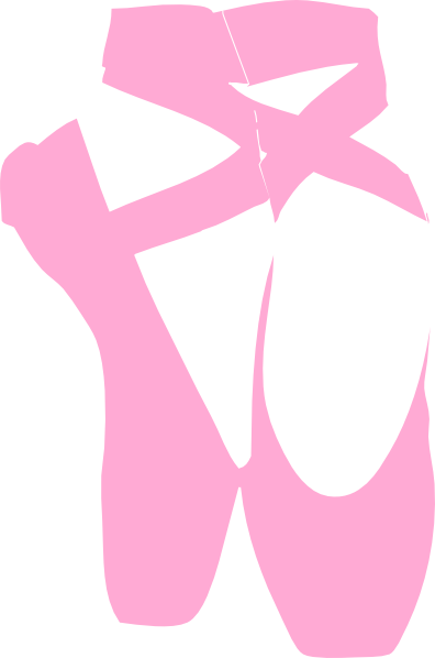 Ballet Slippers clip art - vector clip art online, royalty free ...