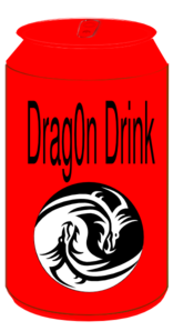 Soda Dragon Clip Art