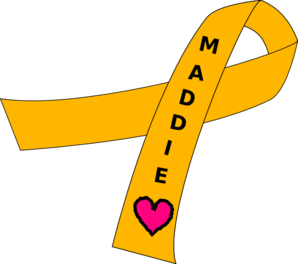 Ribbon For Childhood Cancer Clip Art