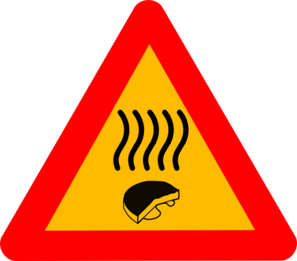 Warning Old Cheese Clip Art