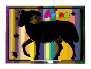 Aries Of The Zodiac Clip Art