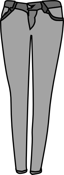 clipart picture of jeans - photo #35