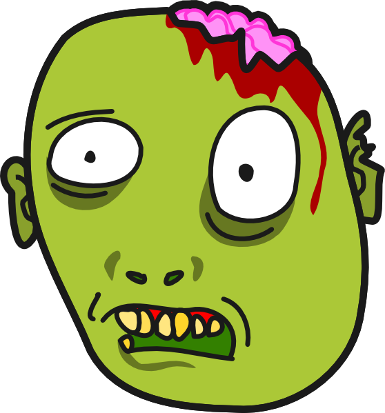 free zombie clipart images - photo #21
