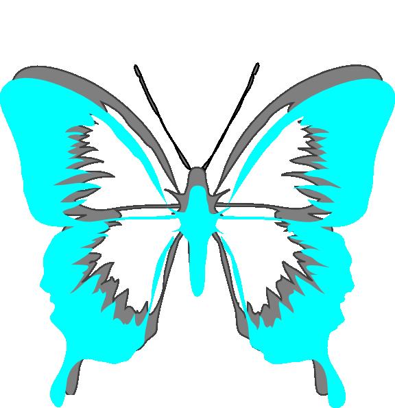Purple Butterfly Scroll Clip Art At Clker Com: Butterfly-2 Clip Art At Clker.com