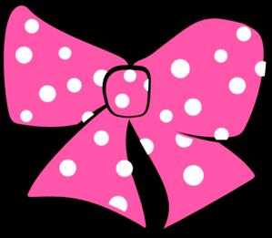 minnie mouse bow clip art at clker com vector clip art online rh clker com minnie mouse hair bow clipart minnie mouse bowtique clipart
