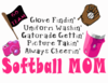 T Ball Mom Page Clip Art