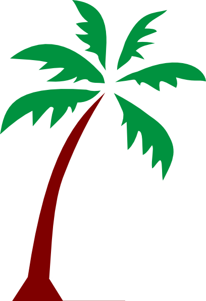 palm tree clip art - photo #8