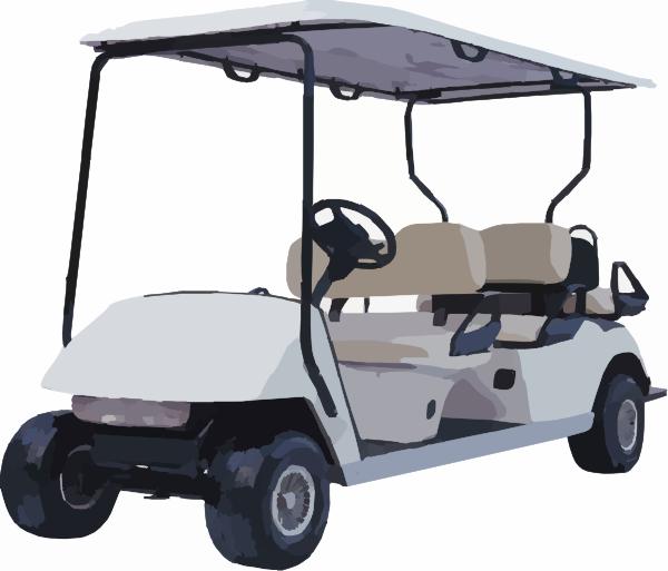 Electric Golf Cart Oc Gc Clip Art At Vector