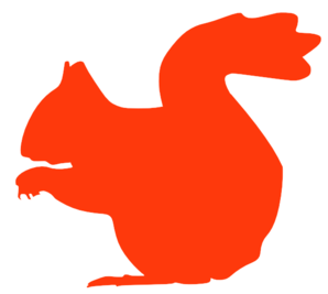 Squirrel Silhouette Clip Art