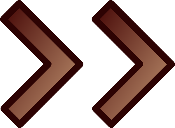 Dark Brown Arrows Clip Art at Clker.com - vector clip art ...