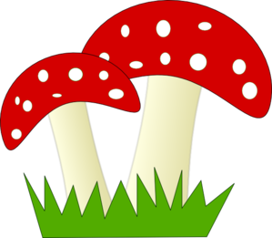 red and white dotted mushrooms clip art at clker com vector clip rh clker com mushrooms clipart clipart mushrooms free