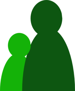 1.5 Green People Clip Art