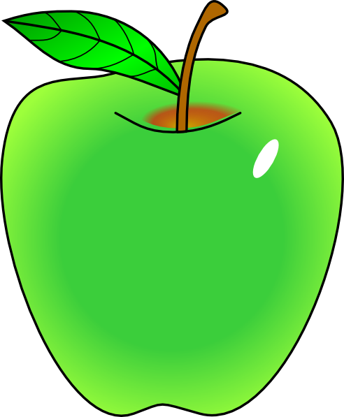 clipart picture of apple - photo #17