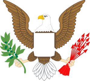 Plain Eagle Clip Art