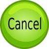 Cancel Button Icon1 Clip Art