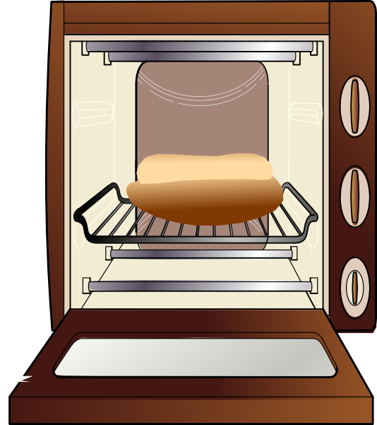 bun in the oven clip art at clker com vector clip art online