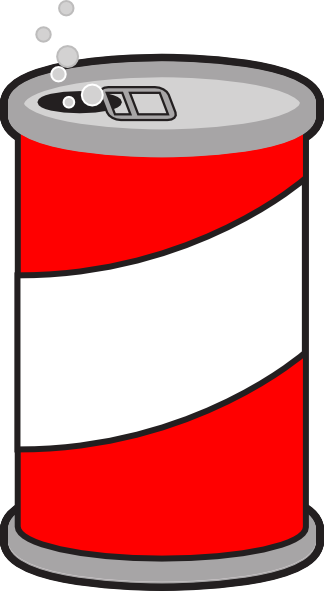red can clip art at clker com vector clip art online royalty free rh clker com clip art soda can images soda can clipart