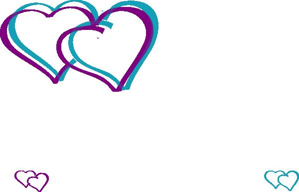clip art double hearts free - photo #31