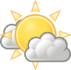 Weather Few Clouds Clip Art