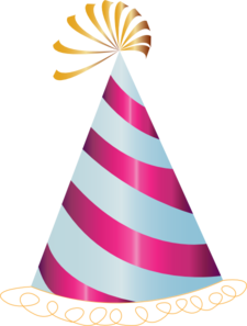Pink Party Hat Clip Art