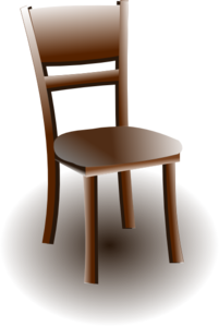 Wood Chair Clip Art
