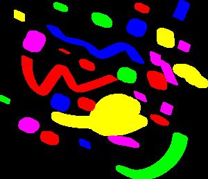 confetti clip art at clker com vector clip art online royalty rh clker com clipart confettis confetti clipart transparent