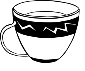 teacup clip art at clker com vector clip art online royalty free rh clker com tea cup clipart cup clipart black and white