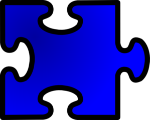 Jigsaw No Shadow Clip Art