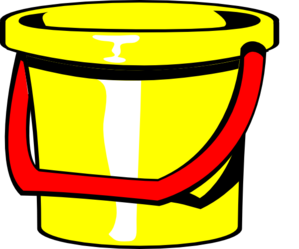 Bucket Yellow Clip Art