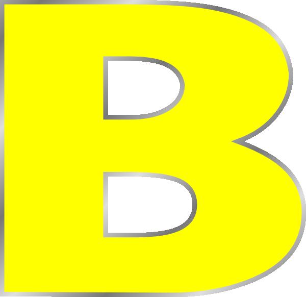 Letter B Clip Art at Clker.com vector clip art online, royalty free ...