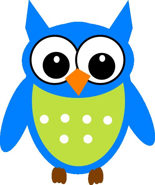 blue green owl clip art at clker com vector clip art online rh clker com green owl clipart shamrock green owl clipart shamrock