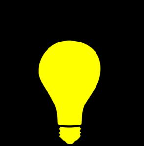 light bulb png. yellow light bulb clip art png