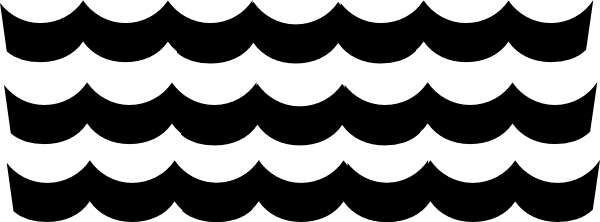 Wave Pattern Clip Art At Clker Com Vector Clip Art