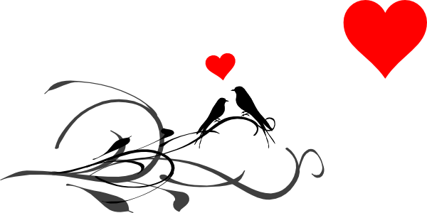 Love bird clip art - photo#27