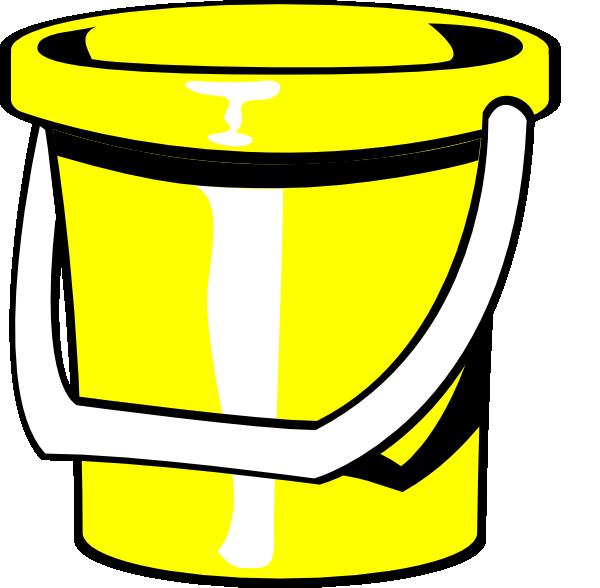 yellow bucket clip art at clker com vector clip art online rh clker com bucket clipart png bucket filler clipart
