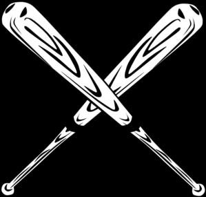 wooden bats clip art at clker com vector clip art online royalty rh clker com Crossed Baseball Bats Vector Baseball Bat Vector Logo