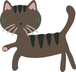 Cute Cat Clip Art
